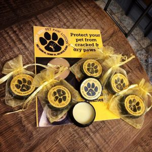 Busy Bees Pet Paw Lotion, Natural Beeswax Product