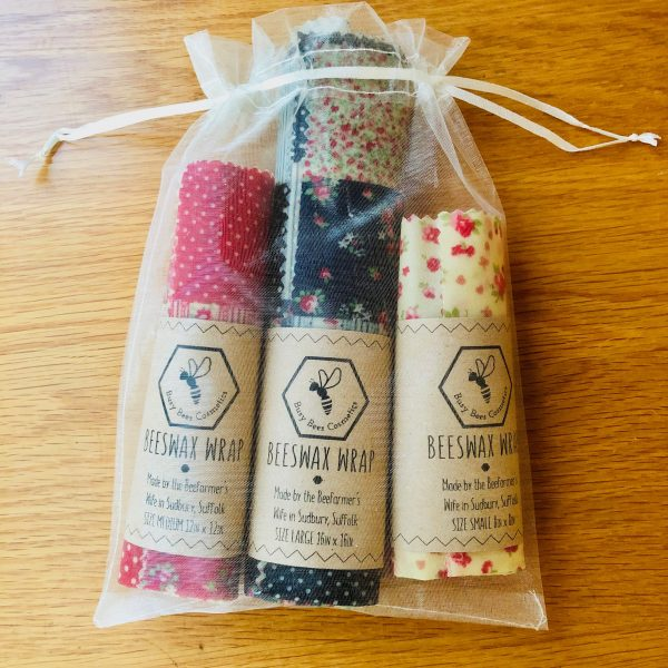 Patchwork Beeswax Wraps
