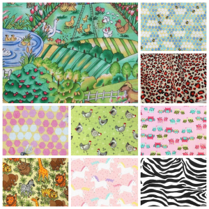 Beeswax Wraps - Animals - Busy Bees Cosmetics