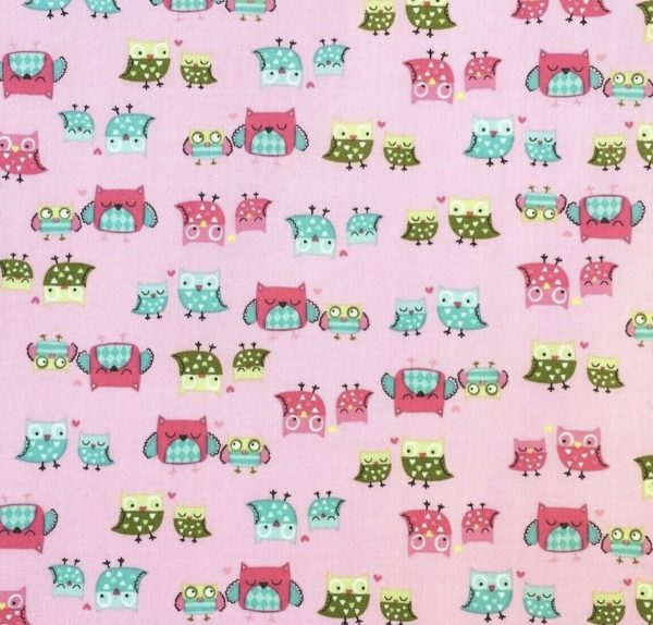 Beeswax Wraps - Animal Print, Owls - Busy Bees Cosmetics