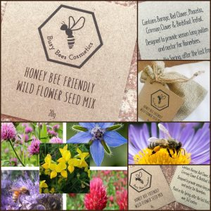 Honey Bee Friendly Wild Flower Seed Mix
