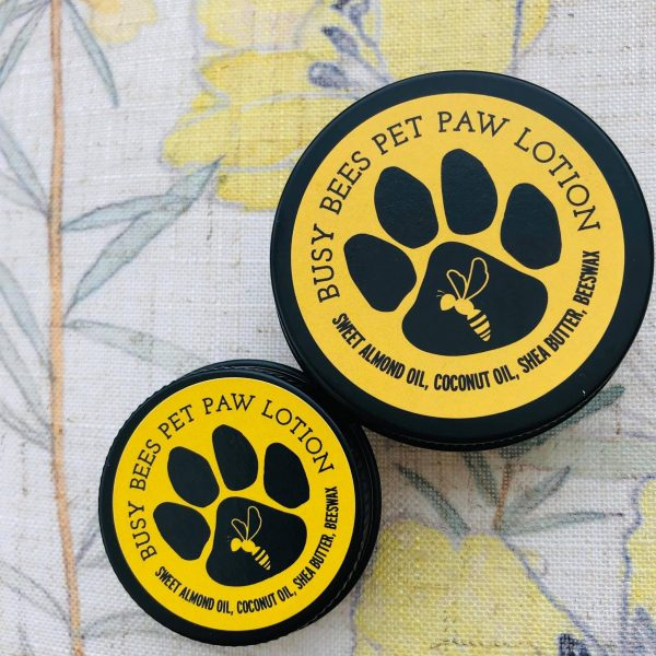 Pet Paw Lotion, Natural Beeswax Products