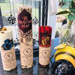 Harry Potter Gifts, Beeswax Wraps, Natural Beeswax Products, Honey