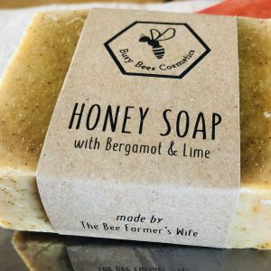 Honey Soap, Bergamot & Lime, Natural Beeswax Products