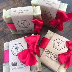 Beeswax Soaps with Essential Oils