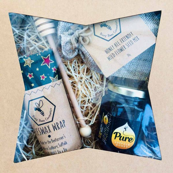 Gift Boxes with Suffolk Runny Honey and Wild Flower Seeds