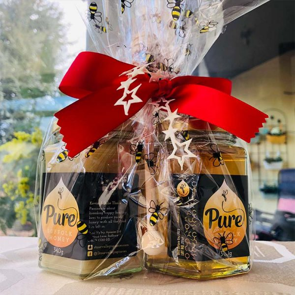 Gift Wrapped Honey Duo