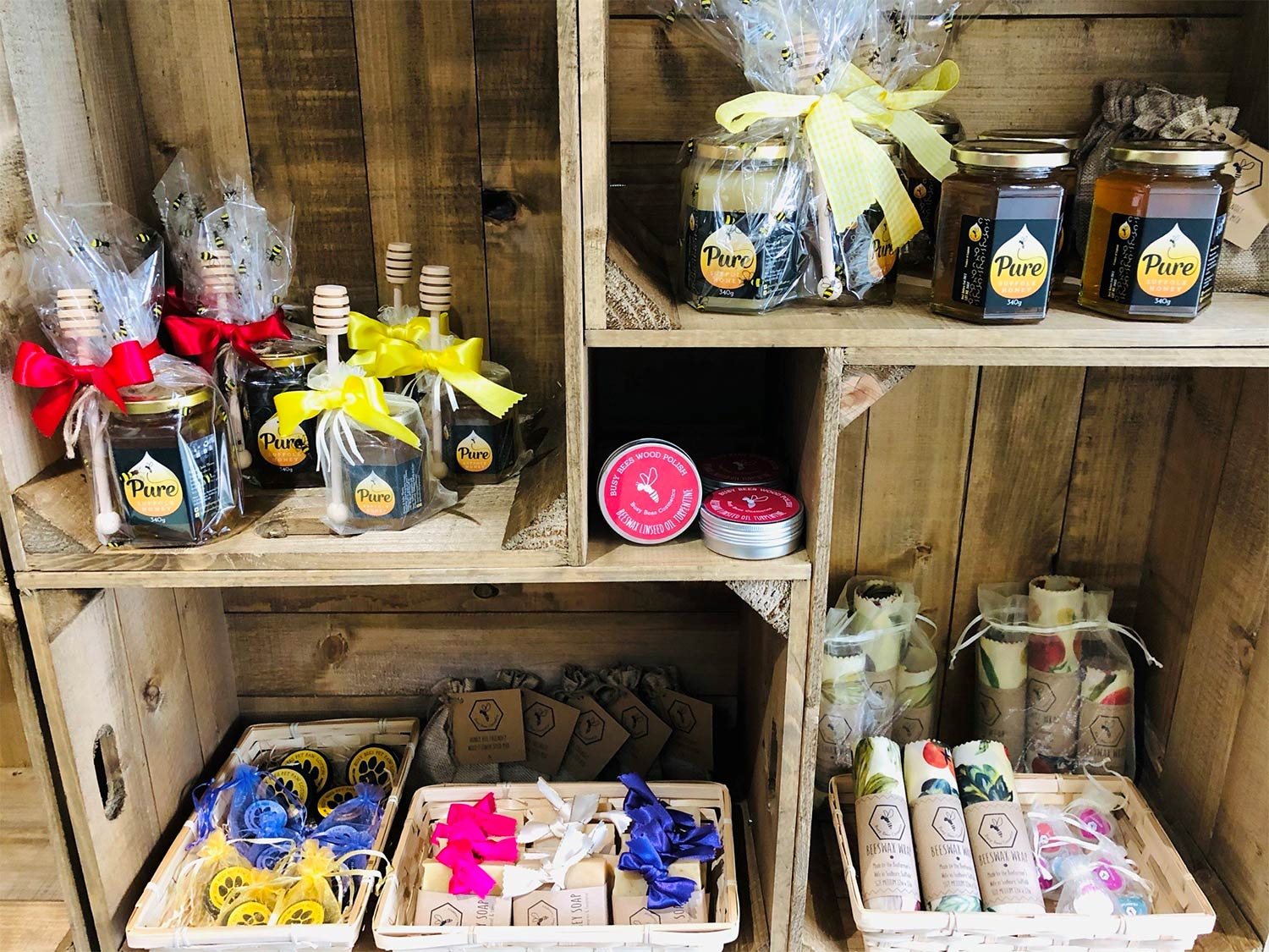 Busy Bees Honey Products, Wholesale